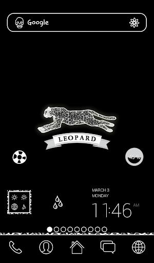 leopard dodol theme