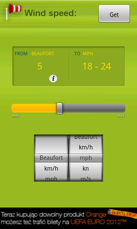 Wind Speed - screenshot