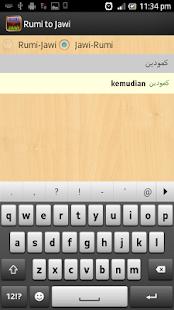 Rumi to jawi converter free download.