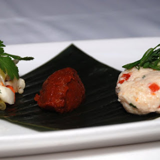 Red Snapper Gefilte Fish.