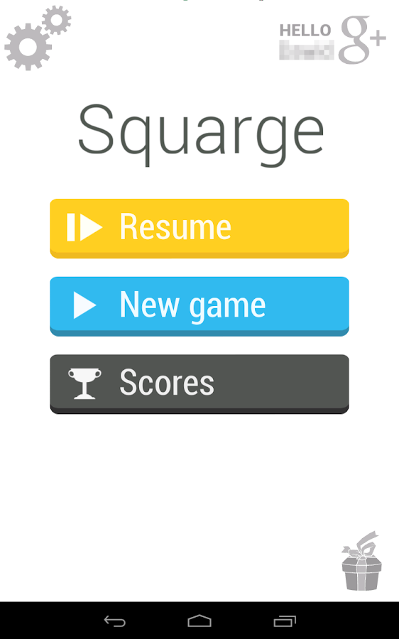 Squarge - screenshot