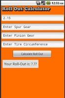 Screenshot of R/C Calculator