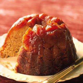 Caramel Apple Steamed Pudding.