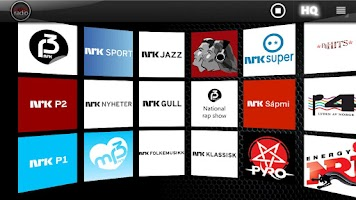 Screenshot of Norsk Radio +