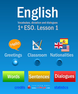 VedoqueEnglish1ESO- screenshot thumbnail