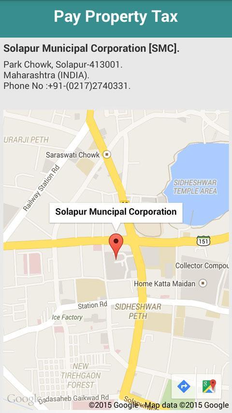 Solapur Municipal Corporation Android Apps On Google Play - Solapur map