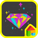 vivid diamond dodol theme icon