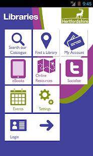 Hertfordshire Libraries - náhled