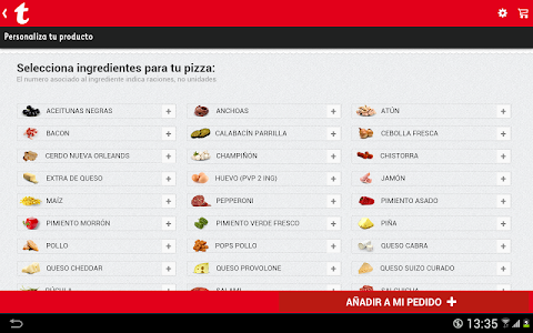 Telepizza screenshot 8