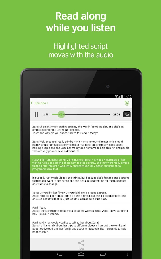 LearnEnglish Podcasts - screenshot