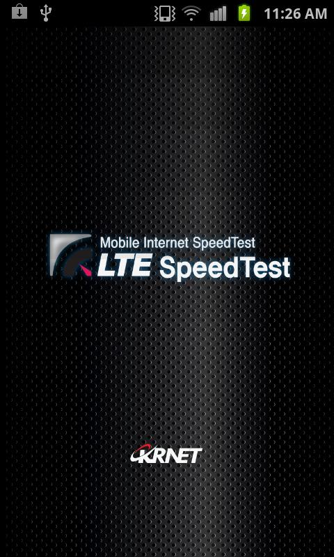 4G SpeedTest (LTE, WIMAX, 3G) - screenshot
