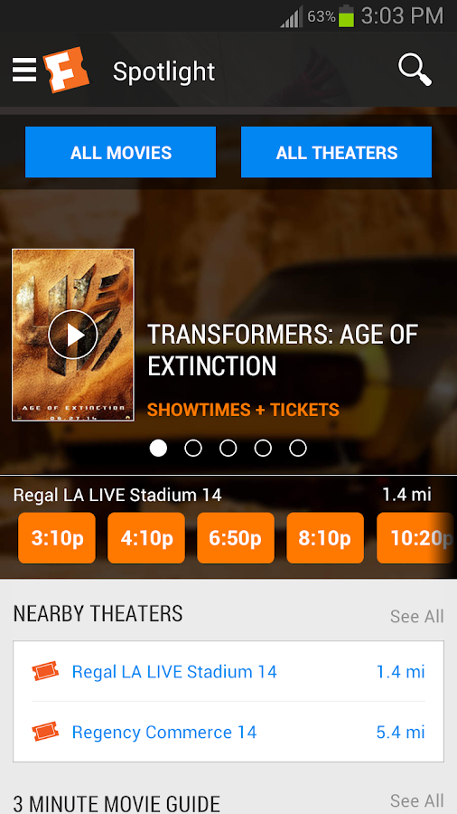 For select theaters on Fandango, you can pick and reserve your exact seat when you buy your tickets in advance. To find a Reserved Seating theater, look Date Updated: 05/21/; Refunds and Exchanges Are Fandango Tickets Refundable? Yes, in most cases you may refund or exchange your ticket(s) up to the start of your movie show time.