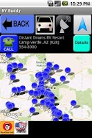 Screenshot of RV Buddy Park Camping Locator