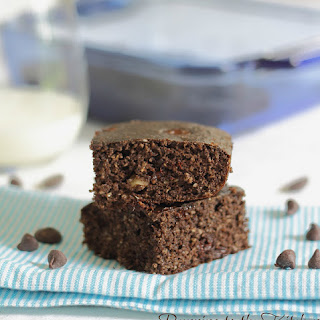Triple Chocolate Protein Cake Bars
