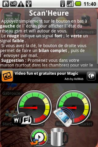 Scan'Heure - screenshot