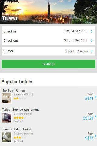 Taiwan Hotel Discount
