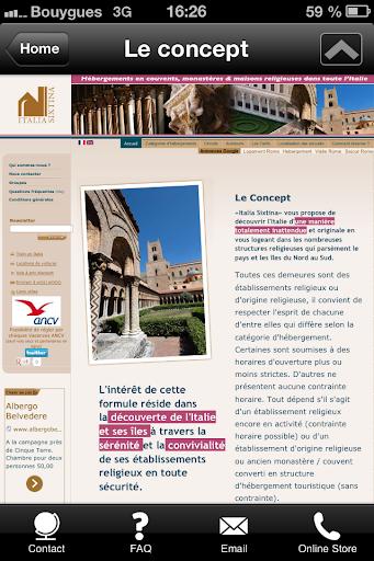 Italia Sixtina voyages