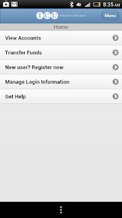 ICU Mobile Banking - screenshot thumbnail