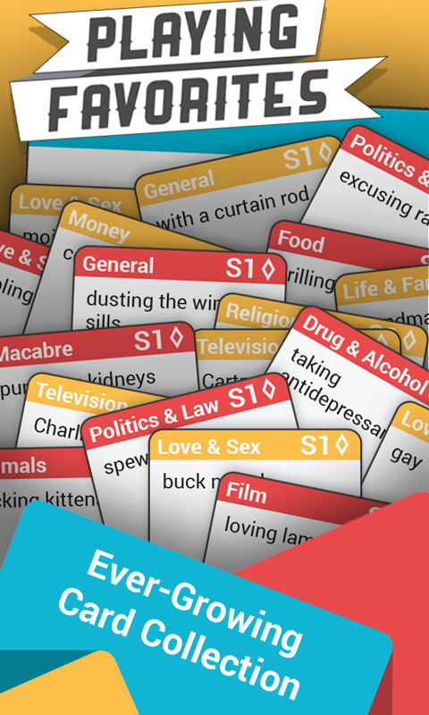 Playing Favorites: A Word TCG- screenshot