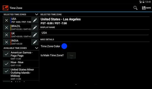 生產應用必備APP下載|Multi Time Zone Clock 好玩app不花錢|綠色工廠好玩App