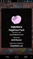Screenshot of RageFace Valentine's Pack