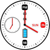 Maestro Clock Widget Full