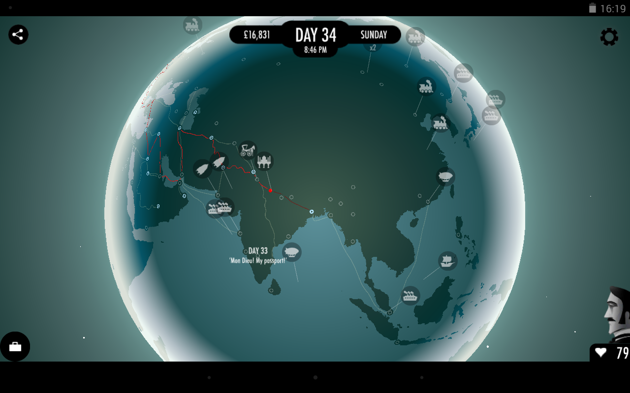 80 Days screenshot #17
