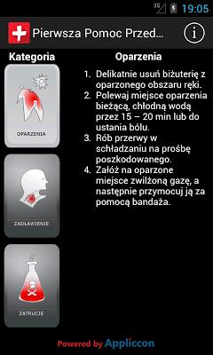 Pierwsza Pomoc Przedmedyczna - screenshot