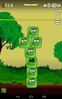 Screenshot of ShakyTower (physics game)