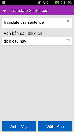 English Vietnamese Dictionary TFlat 6.4.8 screenshots 4