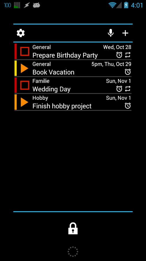 Tasks To Do Pro,  To-Do List - screenshot