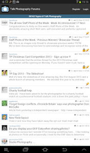 Talk Photography Forums screenshot 1