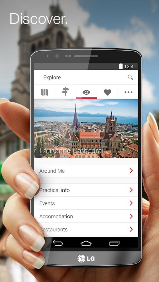 City Guide Lausanne - screenshot