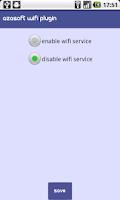 Screenshot of Modus Operandi Wifi Plugin