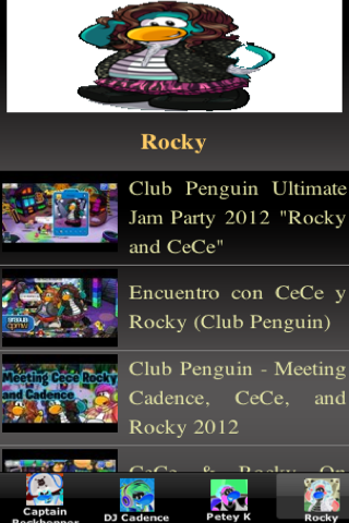 Club Penguin Mascots - screenshot