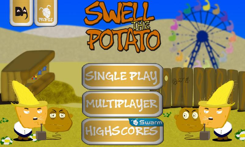 Swell The Potato - screenshot