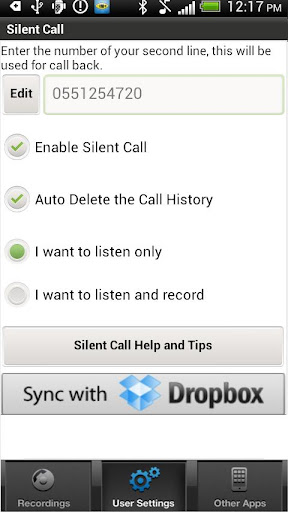 Silent Call - Conversation Spy