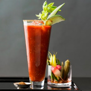 Classic Bloody Mary.