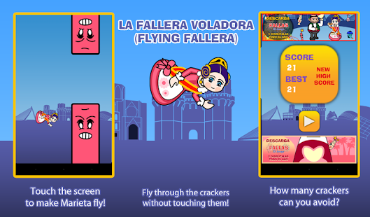 Flying Fallera- screenshot thumbnail