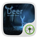 Deer GO Locker Theme icon