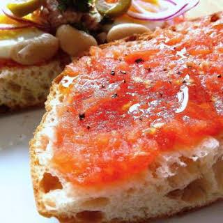 Maltese Tomato and Tuna Sandwich.