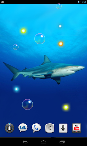 【免費個人化App】Shark Oceanic live wallpaper-APP點子