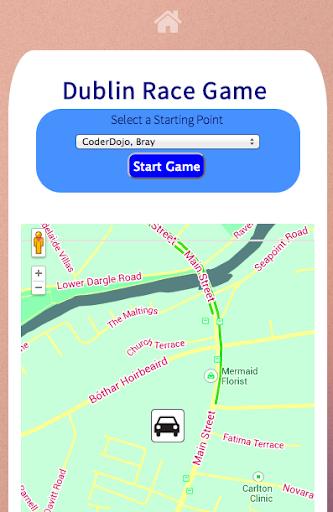 Dublin City Race -CoderDojoDCU