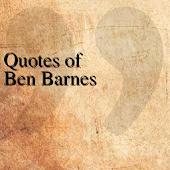 Quotes of Ben Barnes