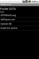 Screenshot of Pocket SOTA