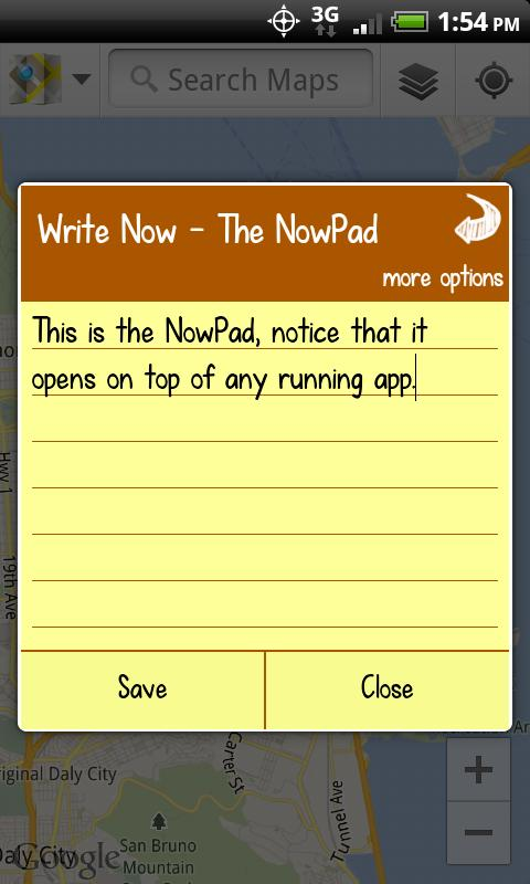 Write Now - Notepad- screenshot