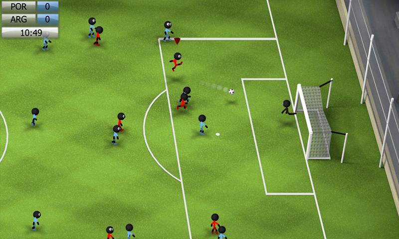 Stickman Soccer 2014 screenshot #7