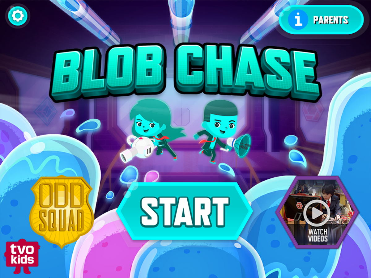 Blob Chase- screenshot