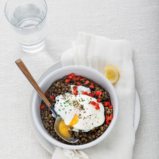Lentil and Egg Bowl.