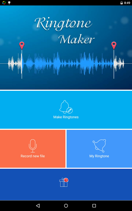 Ringtone Maker Mp3 Editor- screenshot